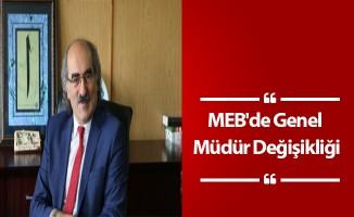 MEB'de Genel Müdür Değişikliği