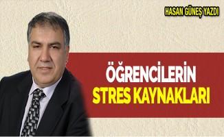 ÖĞRENCİLERİN STRES KAYNAKLARI