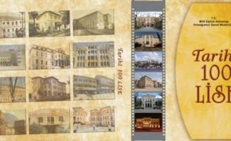 'Tarihi 100 Lise' kitabı hazırlandı