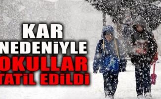 Van´da eğitime 1 günlük kar tatili