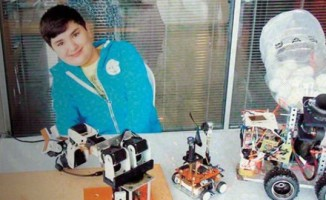 10 yaşında ODTÜ Robot Yarışması'nda birinci oldu