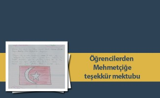 Öğrencilerden Mehmetçiğe teşekkür mektubu