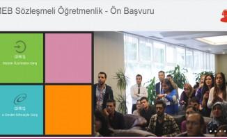 Sözleşmeli öğretmenlik başvurusu ekranı (ilkatama.meb.gov.tr) MEB açıklaması!