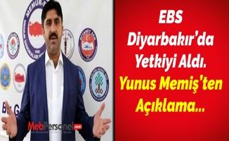 EBS Diyarbakır'da Yetkiyi Aldı