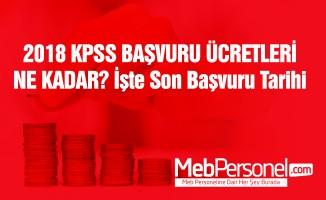 KPSS başvuru ücreti ne kadar?