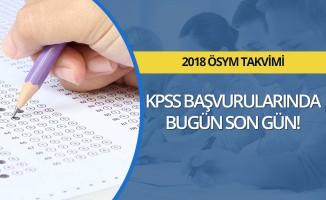 KPSS başvuruları son gün!