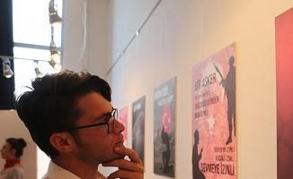 Üniversite öğrencilerinin 'Şehitlik ve Vatan' sergisi ilgi gördü