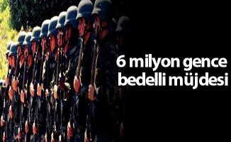 6 milyon gence bedelli müjdesi