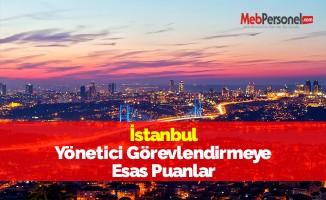 İstanbul Yönetici Görevlendirmeye Esas Puanlar