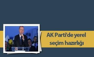 AK Parti'de yerel seçim hazırlığı