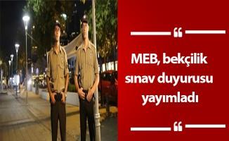 MEB, bekçilik sınav duyurusu yayımladı