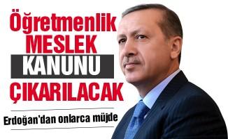 Erdoğan'dan Eğitim Camiası ve Öğretmenlere Büyük Müjdeler