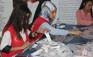 Sınav kalemleri köylerdeki öğrencilere dağıtılacak