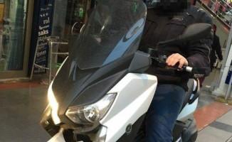 Firari FETÖ'cü öğretmen motosiklet üzerinde yakalandı