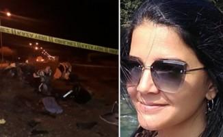 Kaza yapan kadın öğretmen hayatını kaybetti