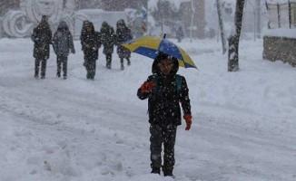 Bingöl'de okullara kar tatili
