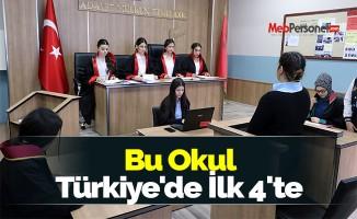 Bu Okul Türkiye'de İlk 4'te