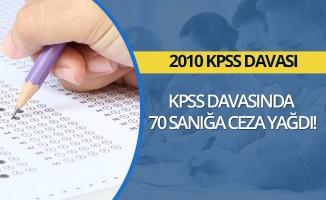 KPSS davasında 70 sanığa ceza yağdı
