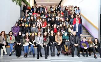 Lise kızlara mühendislik tanıtıldı