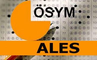 ALES sınav giriş yerleri açıklandı