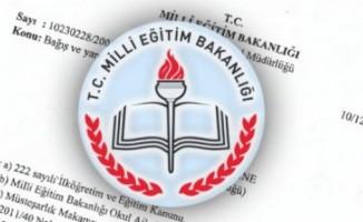 MEB'den Eğitim Faaliyetleri Yazısı