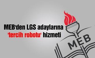 MEB'den LGS adaylarına 'tercih robotu' hizmeti