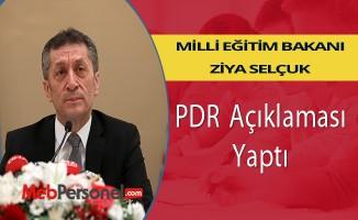 Ziya Selçuk'tan PDR açıklaması