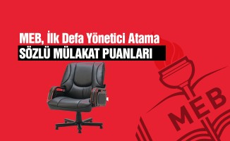 MEB 2019 Yönetici Atama Sözlü Puanlarını Açıklayan İller- 81 il
