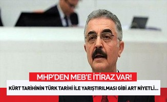 MHP'den MEB'e 'Kürtler Türkler'den önce Müslüman oldu' itirazı
