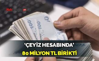 17 bin 'çeyiz hesabında' 80 milyon birikti!