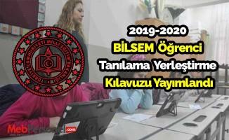 2019- 2020 Bilsem  Tanılama ve Yerleştirme Kılavuzu Yayımlandı