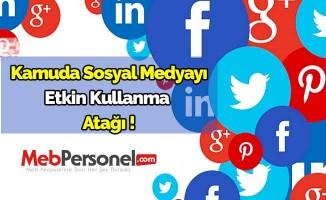 Kamuda sosyal medyayı etkin kullanma atağı!