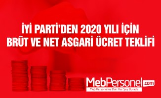 İYİ Parti'den asgari ücret önerisi