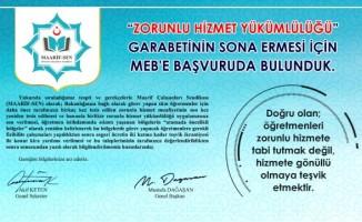 ZORUNLU HİZMET GARABETİ SON BULMALIDIR!