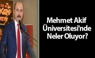 Burdur Mehmet Akif Üniversitesi'nde Neler Oluyor?