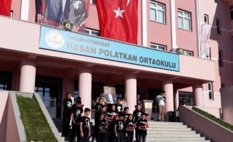 MEB'in ilk kalite yönetim sertifikası Hasan Polatkan Ortaokuluna