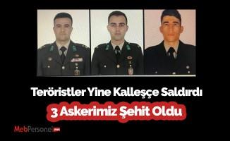 MSB acı haberi duyurdu: 3 askerimiz şehit oldu