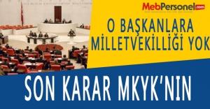 Ak Partili başkanlara milletvekilliği...