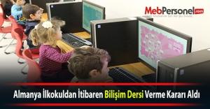 Almanya İlkokuldan İtibaren Bilişim Dersi...