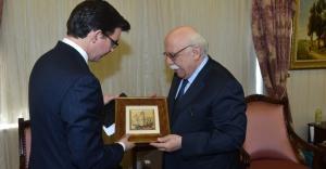 Bakan Avcı, Avustralya Büyükelçisi Larsen'i Kabul Etti