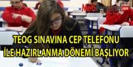 Cep Telefonundan TEOG Sınavına Hazırlık Dönemi Resmen Başlıyor