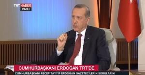 Cumhurbaşkanı Erdoğandan Gündeme...