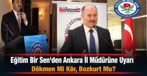 Eğitim Bir Sen#039;den Ankara İl...