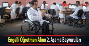 Engelli Öğretmen Alımı...