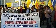 KESK: İzmir İl Milli Eğitim Müdürü Derhal İstifa Etmelidir!