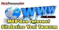 MEB İnternet Siteleri Yeni Tasarımlarıyla Karşınızda