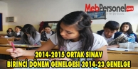 MEB'DEN 2014-2015 TEOG GENELGESİ
