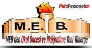 MEBden Okul Öncesi ve İlköğretime...