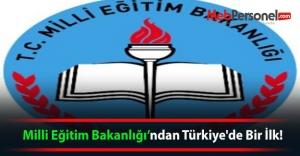 Milli Eğitim Bakanlığından Türkiyede...