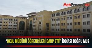 Ankara Tevfik İleri İmam Hatip Ortaokulunda...